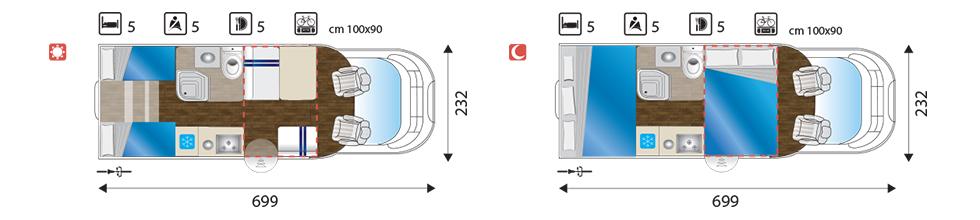 SUN DRIVER T 560 layout