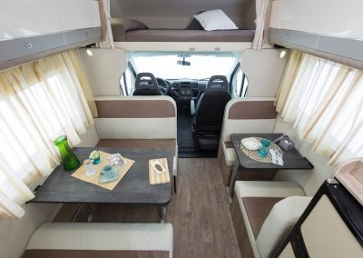 Campers Brabant foto | SUN DRIVER A 690 interieur