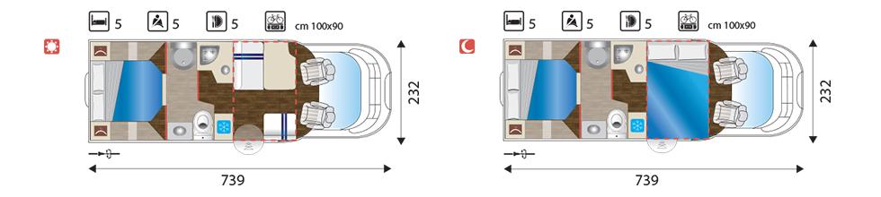 Sun Driver T 570 layout