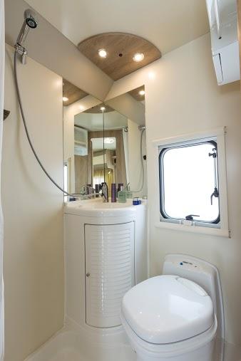 SUN DRIVER A 591 combinatie toilet en douche