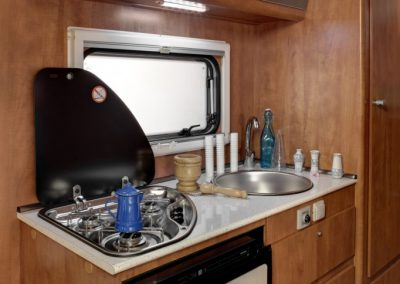 SUN DRIVER A 692 ruime keuken
