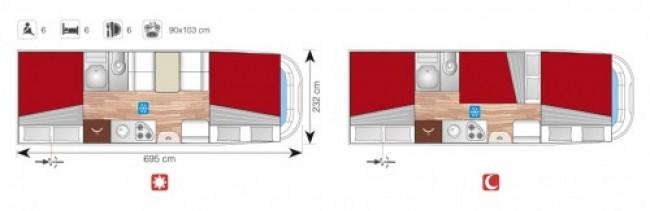 SUN DRIVER A 692 layout
