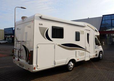 Campers Brabant foto | Sun Driver T580/T595 buitenzijde rechts