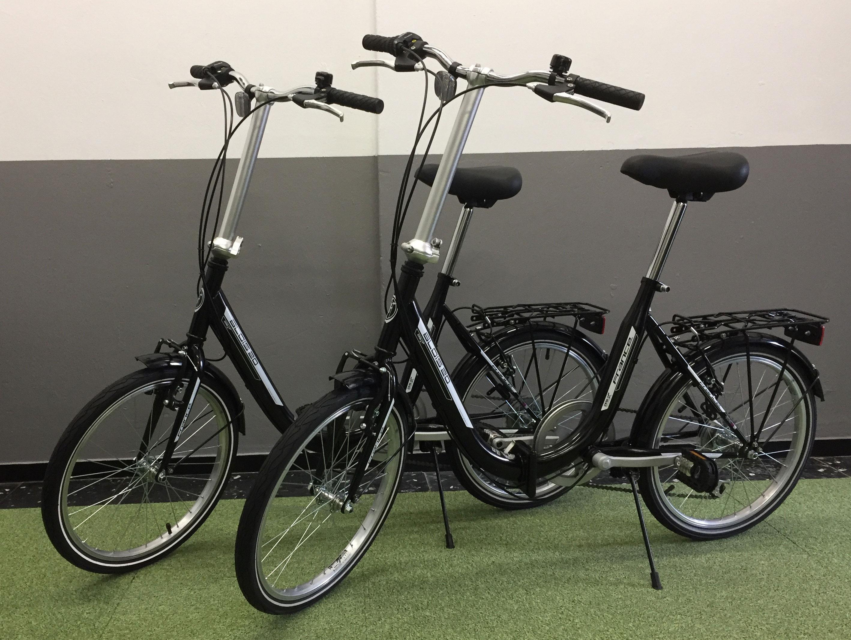 Vouw fietsen te huur bij campers Brabant