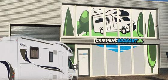 Camper kopen Brabant Locatie in Den Bosch