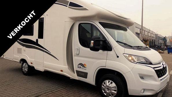 Camper verkoop Sun Driver T550 Campers brabant