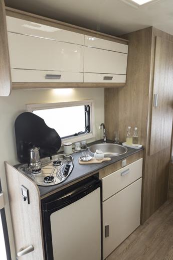 Sun Driver A595-keuken