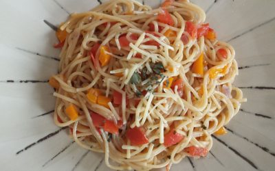 Easy Spaghetti – alles in 1 pan!