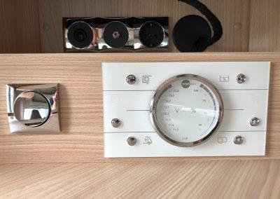 Burstner control panel