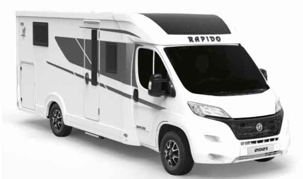 Sun Driver T550 campers Brabant verhuur French coast