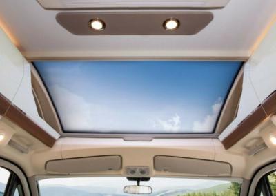panorama dak met verwarming tegen condens