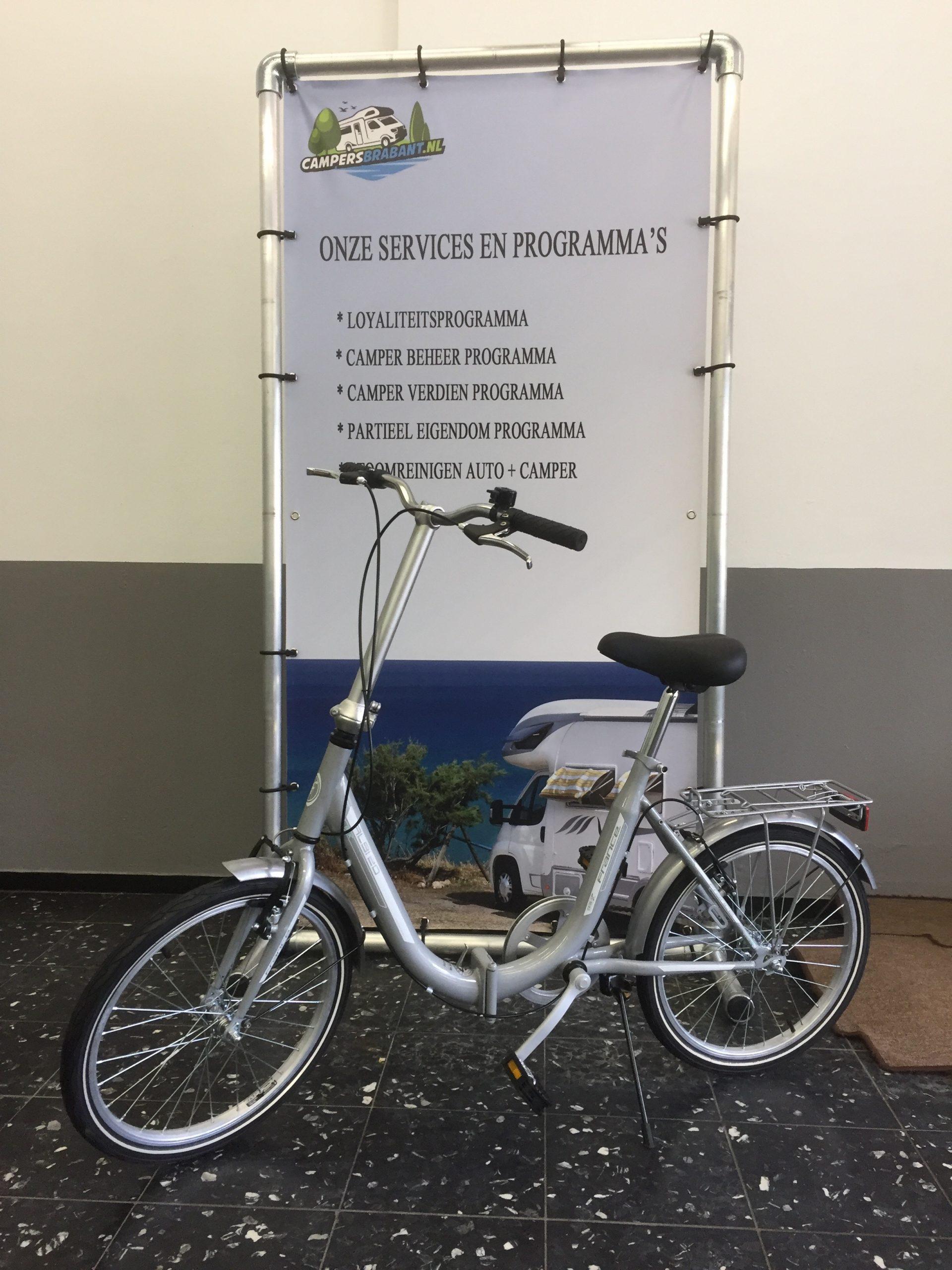 te huur: zeer degelijke opvouwbare fietsen.